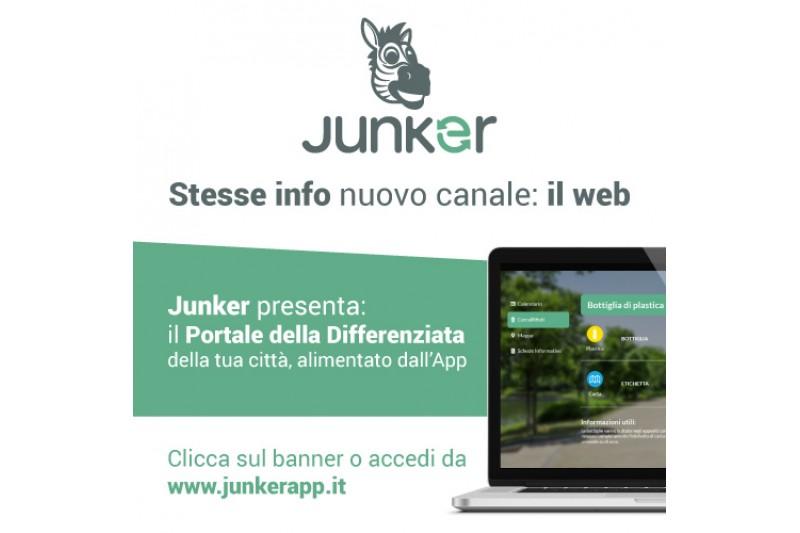Junker App, ora consultabile anche su pc e tablet
