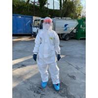 Coronavirus positivi, potenziata la raccolta rifiuti
