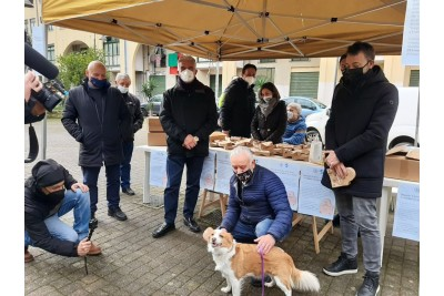 Deiezioni canine, distribuite cinquemila ecopalette